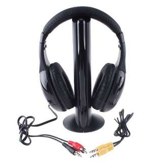in 1 Wireless headphone Earphone wireless Monitor FM radio for MP4