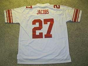 Brandon Jacobs New York Giants NFL Reebok Premier Jersey New