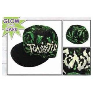 Twiztid Music Band Hat   Pot Weed Leaf Allover Logo Flatbill Flex Fit