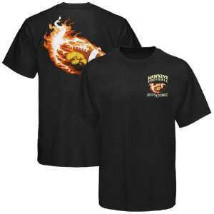 Iowa Hawkeyes Black Smokin the Competition T shirt