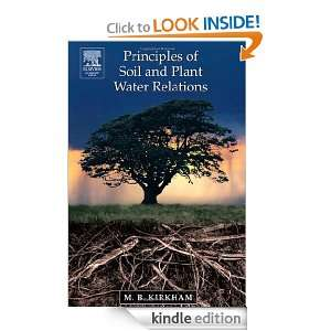 Principles of Soil and Plant Water Relations M.B. Kirkham