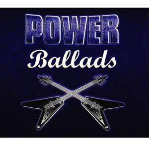 Power Ballads (4 Disc Box Set), Various Artists Pop
