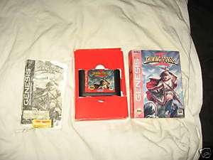 Sega Genesis Game Shining Force 2 RPG Strategy Booklet
