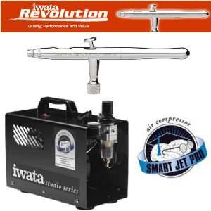 IWATA REVOLUTION AR AIRBRUSHING SYSTEM WITH SMART JET PRO AIR