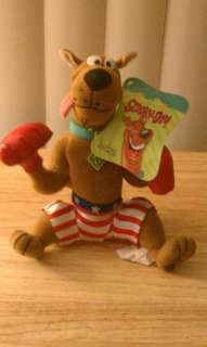 Scooby Doo Boxing Boxer Plush Doll Rocky Balboa