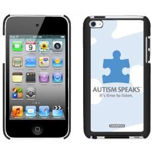 Autism Speaks Puzzle Piece design on iPod Touch Snap On