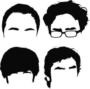 The Big Bang Theory Die Cut Vinyl Decal Sticker