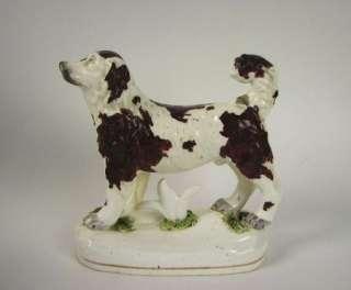 Rare form Staffordshire Dog Figurine early 19th Century English
