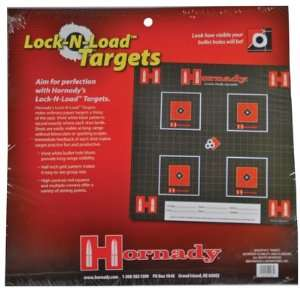 Lock N Load Paper Targets .5 Inch Grid Patter Ten Per Pack