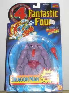 FANTASTIC FOUR DRAGON MAN ACTION FIGURE TOY BIZ