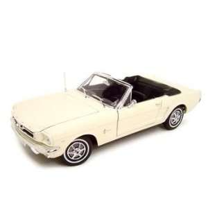 1964 1/2 FORD MUSTANG CONVERTIBLE CREAM 118 MODEL