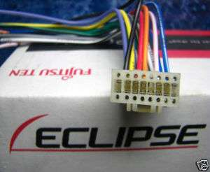 ECLIPSE 16 PIN WIRE HARNESS POWER PLUG CD  DVD HD TV