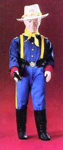 John Wayne Guardian Of The West 1982 Doll Effanbee