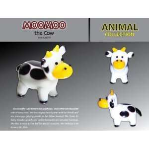 ING GLASS MOO MOO THE COW Toys & Games