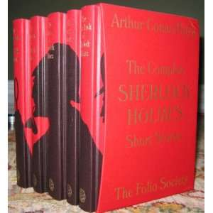The Complete Sherlock Holmes  Five Volume Set (Folio) Books