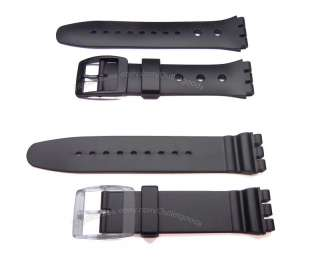 Watch Band Strap fits Swatch Aquachrono & Irony Chrono