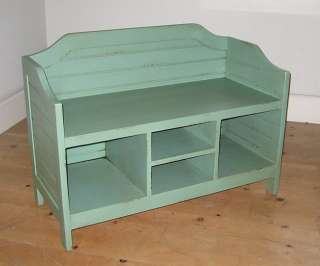 Storage BENCH Solid Wood Fine Quality Furniture 30 Color