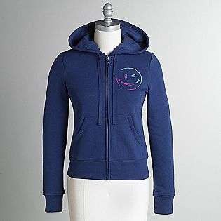 Hooded Sweatshirt Jacket  Joe Boxer Clothing Womens Activewear