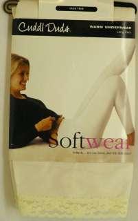 John Pant Warm Underwear Base Layer Pajama White NEW Plus Size