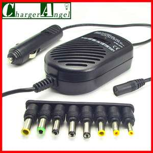 80W Car DC Adapter Power Charger For Laptop HP Dell IBM New