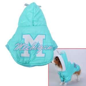 Pet Dog Hoodie Hooded Winter Coat Jacket Size XL
