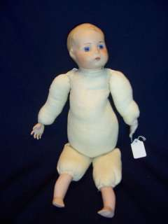 Hand made Porcelain Baby Doll Glass Eyes 17