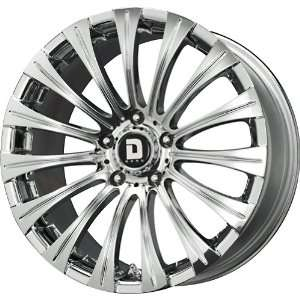 Drag DR 43 Chrome Wheel (17x8/5x120mm) Automotive