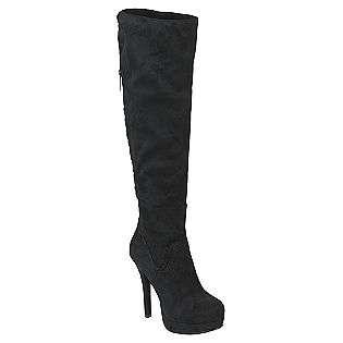 Manhattan Boot Black  Kardashian Kollection Shoes Womens Boots