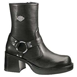 Womens Pavement Harness Boots   Black  Harley Davidson Shoes Womens