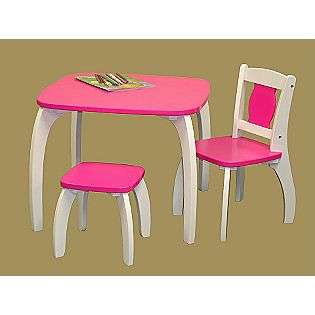 Kids Bow Leg Table   Dark Pink  RiverRidge(r) Home Products For the