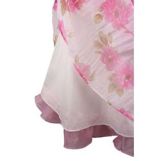 Bonnie Jean Girls Pink Floral Print Dress  Clothing Girls Dresses