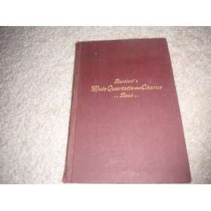 Bartletts Male Quartette and Chorus Book echo music co Books