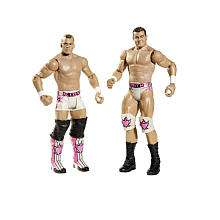WWE Series 9 Action Figure 2 Pack   The Hart Dynasty   Mattel   Toys