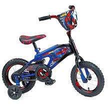 Street Flyers 12 inch Spider Man BMX Bike   Boys   Blue   Street
