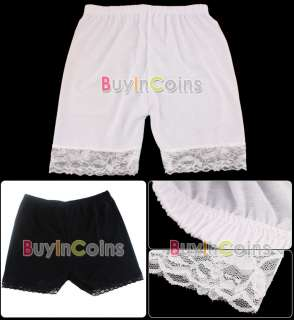 Women Lace Tiered Skirts Short Skirt Under Safety Pants