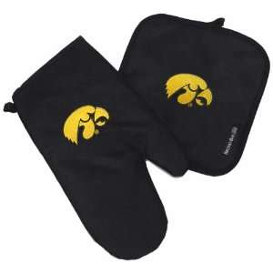 UI University of Iowa Hawkeyes Logo Oven Mitt Potholder