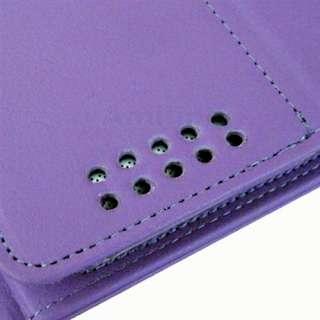 Purple Bluetooth Wireless Keyboard Leather Case 4 New iPad 3 iPad 2