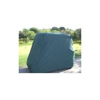 Deluxe 2 Passenger Golf Cart Cover, Green, *Will Not Fit Carts with