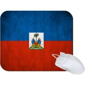 Rikki Knight Haiti Flag Mouse Pad Mousepad   Ideal Gift