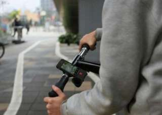 Cycling Bike Megaphone Horn Bicycle Black Phone Holder Case Cover For