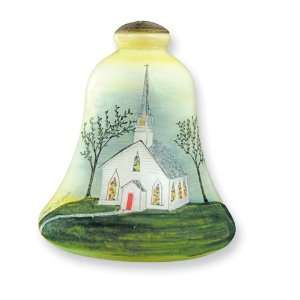 Love and Marriage Hand painted Glass Ornament Jewelry