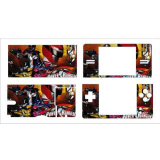 Power Rangers Skin sticker Decal for Nintendo DS Lite