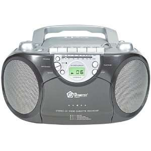 Curtis CD Boombox with Cassette Player and AM/FM Tuner