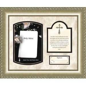 Boy Girl Baby Baptism Gift The Lords Prayer Framed Verse
