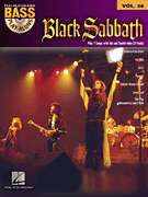 Black Sabbath Bass Guitar Play Along Tab Music Book CD