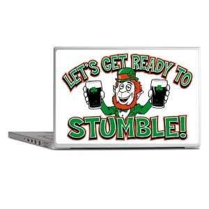 Laptop Notebook 17 Skin Cover Lets Get Ready To Stumble