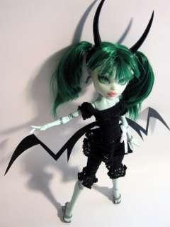 OOAK Monster High Custom Repaint reroot Dead Master Frankie Stein