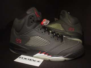 2009 Nike Air Jordan V 5 Retro DMP RAGING BULL TORO BLACK GREY RED