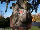 HARLEY DAVIDSON 95thANNIVERSARY LEATHER VEST WOMENS SMALL SPORTSTER