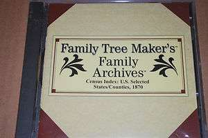 family tree makers 1870 census